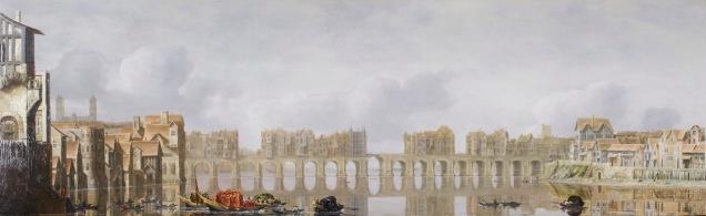 View of Old London Bridge