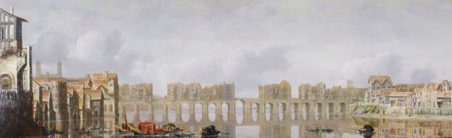 View of Old London Bridge