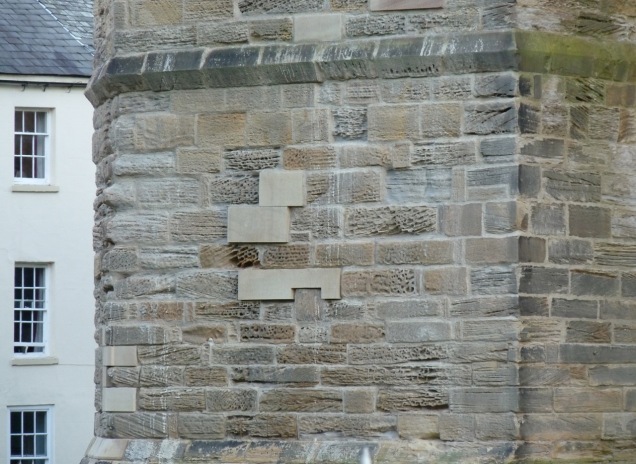 Durham cathedral stone repair