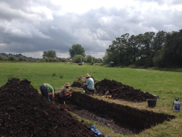 Glastonbury Lake excavation