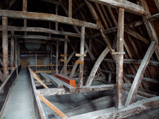 Salisbury Cathedral roof
