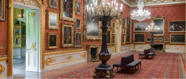 Painting collection at Apsley House (C) English Heritage
